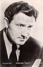 act020535 - Spencer Tracy Movie Star Actor Actress Film Star Postcard, Old Vintage Antique Post Card