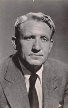 act020537 - Blue Bird Stockings, Father of the Bridge, Spencer Tracy Movie Star Actor Actress Film Star Postcard, Old Vintage Antique Post Card