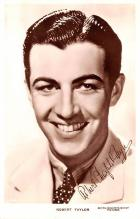 act020540 - Robert Taylor Movie Star Actor Actress Film Star Postcard, Old Vintage Antique Post Card