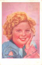 act020565 - Shirley Temple Movie Star Actor Actress Film Star Postcard, Old Vintage Antique Post Card