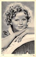 act020569 - Shirley Temple Movie Star Actor Actress Film Star Postcard, Old Vintage Antique Post Card