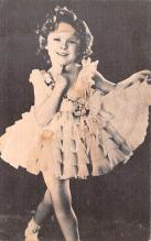 act020573 - Shirley Temple Movie Star Actor Actress Film Star Postcard, Old Vintage Antique Post Card