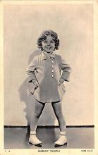 act020578 - Shirley Temple Movie Star Actor Actress Film Star Postcard, Old Vintage Antique Post Card