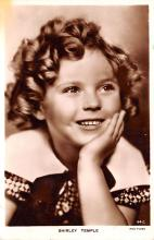 act020580 - Shirley Temple Movie Star Actor Actress Film Star Postcard, Old Vintage Antique Post Card