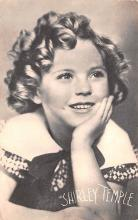 act020585 - Shirley Temple Movie Star Actor Actress Film Star Postcard, Old Vintage Antique Post Card