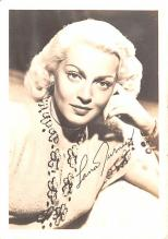 act020596 - Lana Turner Movie Star Actor Actress Film Star Postcard, Old Vintage Antique Post Card