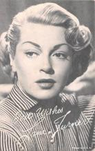 act020604 - Lana Turner Movie Star Actor Actress Film Star Postcard, Old Vintage Antique Post Card