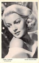 act020620 - MGM Star, Star Souvenir Series, Lana Turner Movie Star Actor Actress Film Star Postcard, Old Vintage Antique Post Card