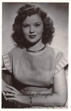 act020637 - Shirley Temple Movie Star Actor Actress Film Star Postcard, Old Vintage Antique Post Card