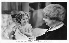 act020703 - Child Movie Star Shirley Temple Post Card Old Vintage Antique