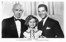 act020705 - Child Movie Star Shirley Temple Post Card Old Vintage Antique