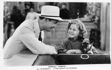 act020707 - Child Movie Star Shirley Temple Post Card Old Vintage Antique
