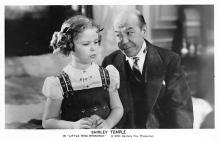 act020713 - Child Movie Star Shirley Temple Post Card Old Vintage Antique