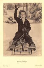 act020715 - Child Movie Star Shirley Temple Post Card Old Vintage Antique