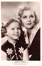 act020725 - Child Movie Star Shirley Temple Post Card Old Vintage Antique