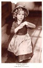 act020729 - Child Movie Star Shirley Temple Post Card Old Vintage Antique