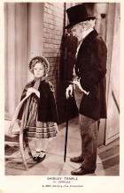 act020733 - Child Movie Star Shirley Temple Post Card Old Vintage Antique