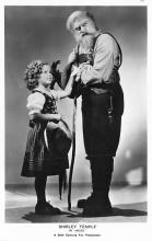 act020735 - Child Movie Star Shirley Temple Post Card Old Vintage Antique