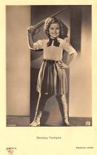 act020737 - Child Movie Star Shirley Temple Post Card Old Vintage Antique