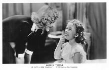 act020765 - Child Movie Star Shirley Temple Post Card Old Vintage Antique