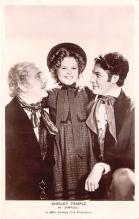 act020773 - Child Movie Star Shirley Temple Post Card Old Vintage Antique