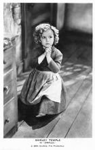 act020775 - Child Movie Star Shirley Temple Post Card Old Vintage Antique