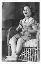 act020781 - Child Movie Star Shirley Temple Post Card Old Vintage Antique