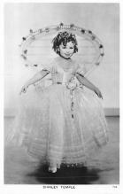 act020787 - Child Movie Star Shirley Temple Post Card Old Vintage Antique