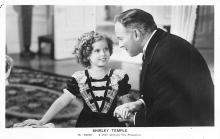 act020815 - Child Movie Star Shirley Temple Post Card Old Vintage Antique