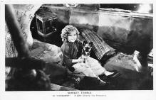 act020847 - Child Movie Star Shirley Temple Post Card Old Vintage Antique