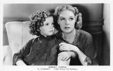 act020869 - Child Movie Star Shirley Temple Post Card Old Vintage Antique