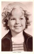 act020871 - Child Movie Star Shirley Temple Post Card Old Vintage Antique