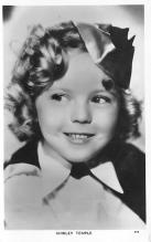 act020877 - Child Movie Star Shirley Temple Post Card Old Vintage Antique