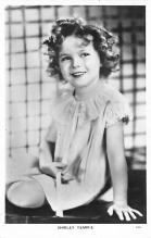 act020879 - Child Movie Star Shirley Temple Post Card Old Vintage Antique
