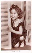 act020881 - Child Movie Star Shirley Temple Post Card Old Vintage Antique
