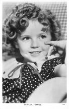 act020883 - Child Movie Star Shirley Temple Post Card Old Vintage Antique