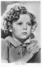 act020885 - Child Movie Star Shirley Temple Post Card Old Vintage Antique