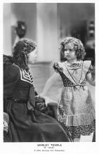 act020889 - Child Movie Star Shirley Temple Post Card Old Vintage Antique