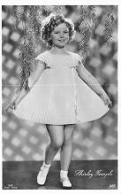 act020893 - Child Movie Star Shirley Temple Post Card Old Vintage Antique