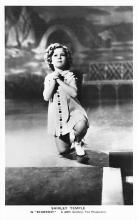 act020901 - Child Movie Star Shirley Temple Post Card Old Vintage Antique