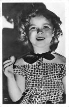 act020907 - Child Movie Star Shirley Temple Post Card Old Vintage Antique