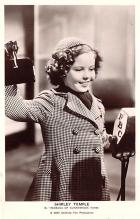 act020911 - Child Movie Star Shirley Temple Post Card Old Vintage Antique
