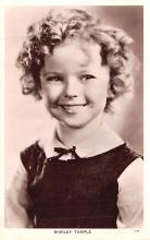 act020927 - Child Movie Star Shirley Temple Post Card Old Vintage Antique