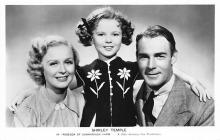 act020931 - Child Movie Star Shirley Temple Post Card Old Vintage Antique