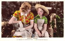 act020943 - Child Movie Star Shirley Temple Post Card Old Vintage Antique