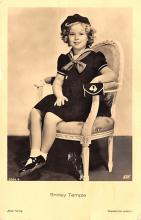 act020953 - Child Movie Star Shirley Temple Post Card Old Vintage Antique
