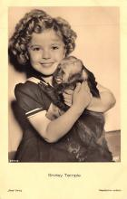 act020959 - Child Movie Star Shirley Temple Post Card Old Vintage Antique