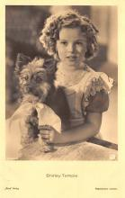 act020963 - Child Movie Star Shirley Temple Post Card Old Vintage Antique
