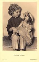 act020965 - Child Movie Star Shirley Temple Post Card Old Vintage Antique