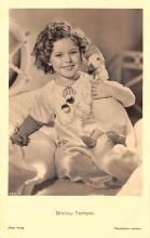 act020969 - Child Movie Star Shirley Temple Post Card Old Vintage Antique